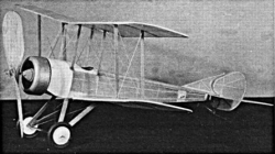 Grahame-White 20 model airplane plan