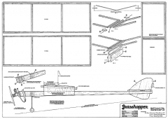 Grasshopper model airplane plan