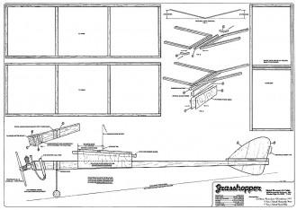 Grasshopper model airplane plan