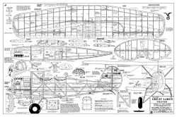Great Lakes Trainer 2 model airplane plan
