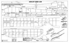 Grebe model airplane plan
