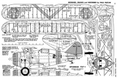 Grumman F2F-1 model airplane plan