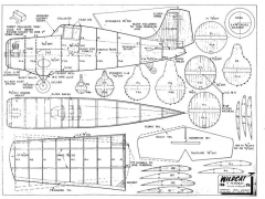 GrummanWildcat model airplane plan