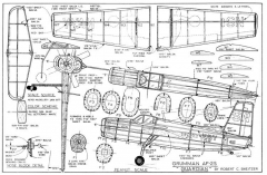 Grumman AF-2S Guardian-Sweitzer model airplane plan