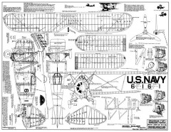 Grumman F3F-1 model airplane plan