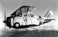 Grumman F3F-1 Shipboard model airplane plan
