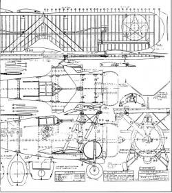 Grumman F3F 2 model airplane plan