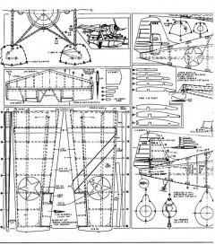 Grumman F4F-3 Ranger 1 model airplane plan