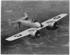 Grumman F5F-1 model airplane plan