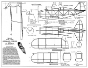 Grumman Fighter 20in model airplane plan
