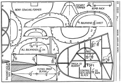 Grumman Fighter p2 model airplane plan