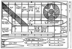 Grumman Fighter p4 model airplane plan