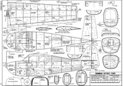 Grumman G-63 Kitten model airplane plan