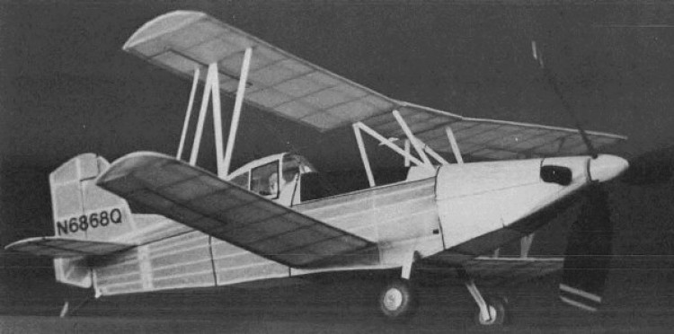 Grumman Turbo Ag Cat model airplane plan