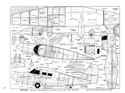 Grumman Widgeon model airplane plan