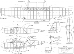 Grumman G-44a Widgeon model airplane plan