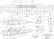 Grumman Widgeon 24in model airplane plan