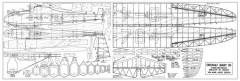 Grunau Baby IIb model airplane plan