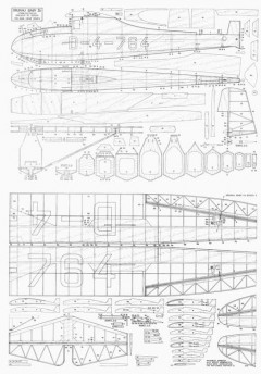 Grunau Baby IIb model airplane plan