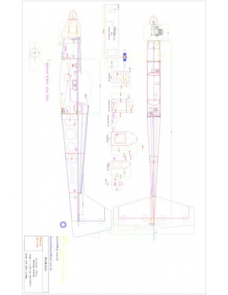 Guardian 46 1 Model 1 model airplane plan