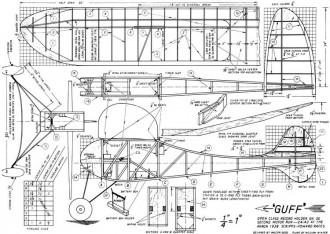 Guff 2 model airplane plan