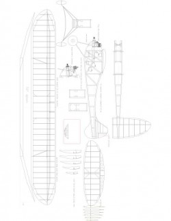 Guff Model 1 model airplane plan