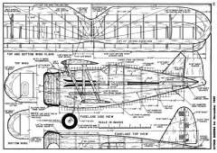 Gulfhawk model airplane plan