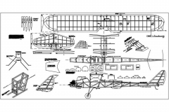 Gull II model airplane plan