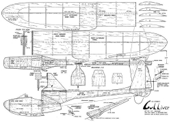 GulliverRC model airplane plan