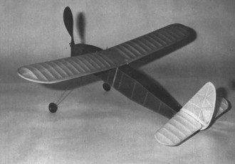 Gus model airplane plan