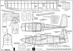 Gwing model airplane plan