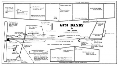GymDandy model airplane plan