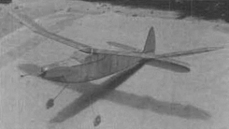 Gypsy model airplane plan