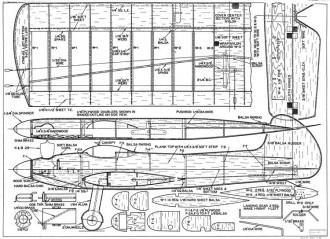 Gyrator CL model airplane plan