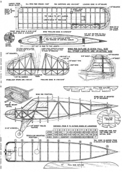 Gyrene model airplane plan