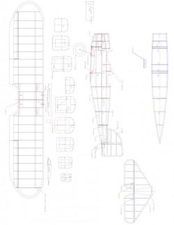 HEINKEL18 Model 1 model airplane plan
