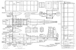 Half A Wild Deuce model airplane plan