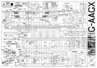 Handley Page HP42 Hannibal model airplane plan