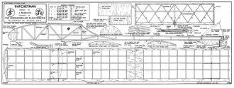 Hatchetman model airplane plan