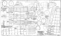 Havard II Towner model airplane plan