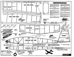 Hawk Jetco model airplane plan