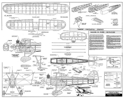 Hawker Fury CL Berkeley model airplane plan