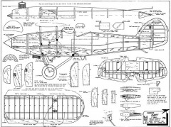 Hawker Hart model airplane plan