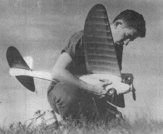 Hayseed B model airplane plan