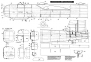 He-177 model airplane plan