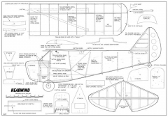 Headwind FM-04-75 model airplane plan