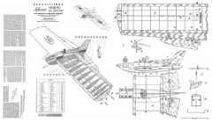 Hegi 60 model airplane plan