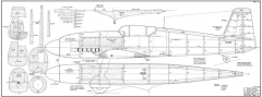 Heinkel He 100D model airplane plan