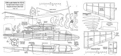 Heinkel He 162 model airplane plan