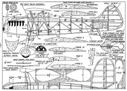 Heinkel Pursuit p1 model airplane plan